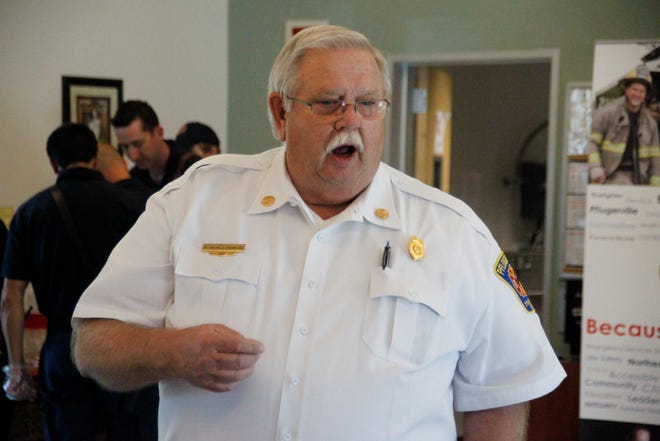 Pflugerville Fire Chief Ron Moellenberg says a fire department is an important component of an area's economic development.