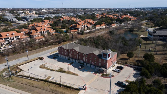 Texas Bungalows Hotel & Suites on Burnet Road is one of two hotels being the city is considering purchasing for those experiencing homelessness.