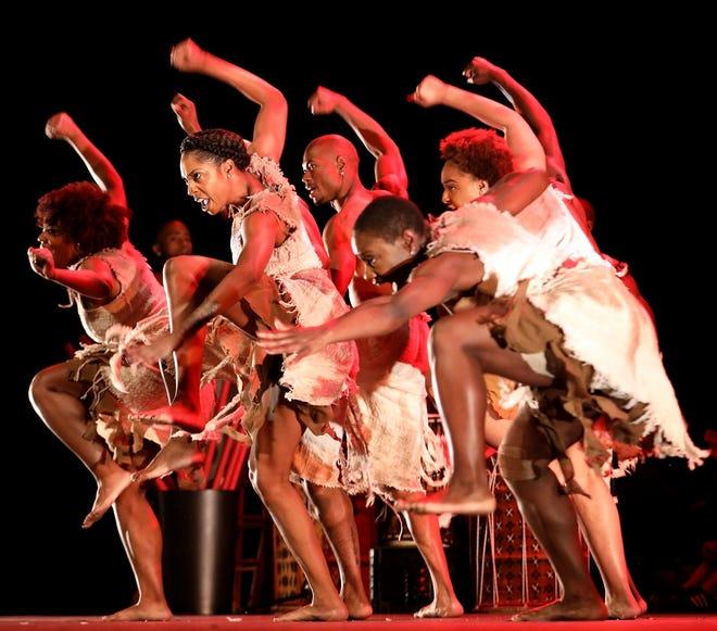 "Step Afrika! performs ""STONO,"" based on a slave rebellionin 1739."