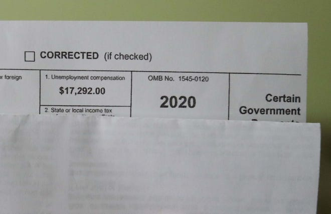 Many people who got a 1099-G form for unemployment benefits never received them last year. Fraudulent claims are skyrocketing, according to the state.