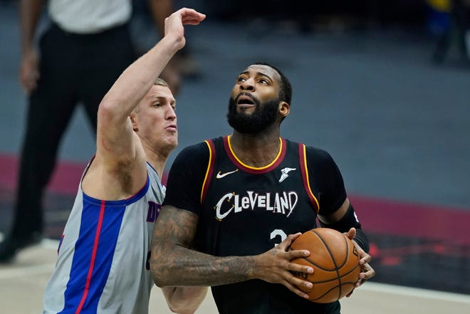 The Cavaliers did not work a deal for center Andre Drummond before the NBA trade deadline and are expected to buy out his contract. [Tony Dejak/Associated Press]