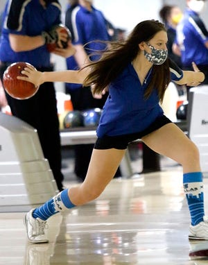 Wooster's Abbie Leiendecker immediately became one of the top bowlers in Northeast Ohio as a freshman, averaging 228 per game.