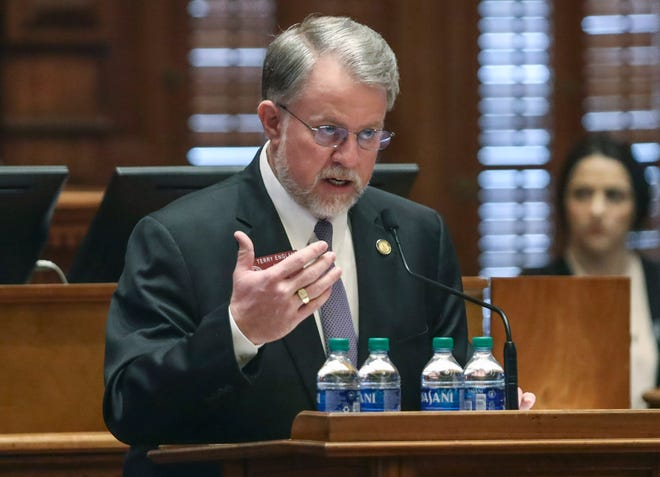 Georgia Rep. Terry England, the Republican chairman of the House Appropriations Committee, is opposing calls to use Georgia's share of federal COVID-19 relief funds to expand Medicaid.