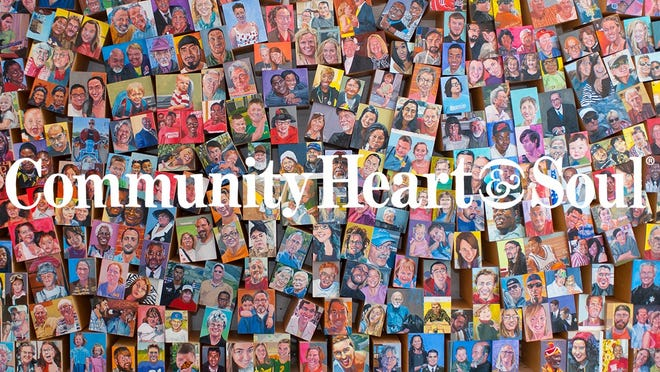 Community Heart and Soul is afour-phase community development model that goes over a two-year period, where a committee of residents gather stories from community members, identify what matters most to residents, develop a plan, and then follow through in making that plan a reality.