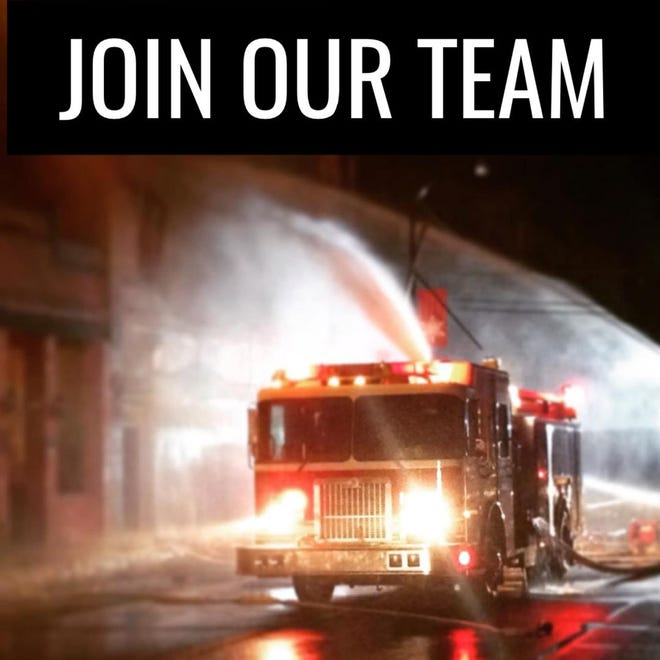 The DeRidder Fire Department is looking to hire a new Firefighter/Operator.
