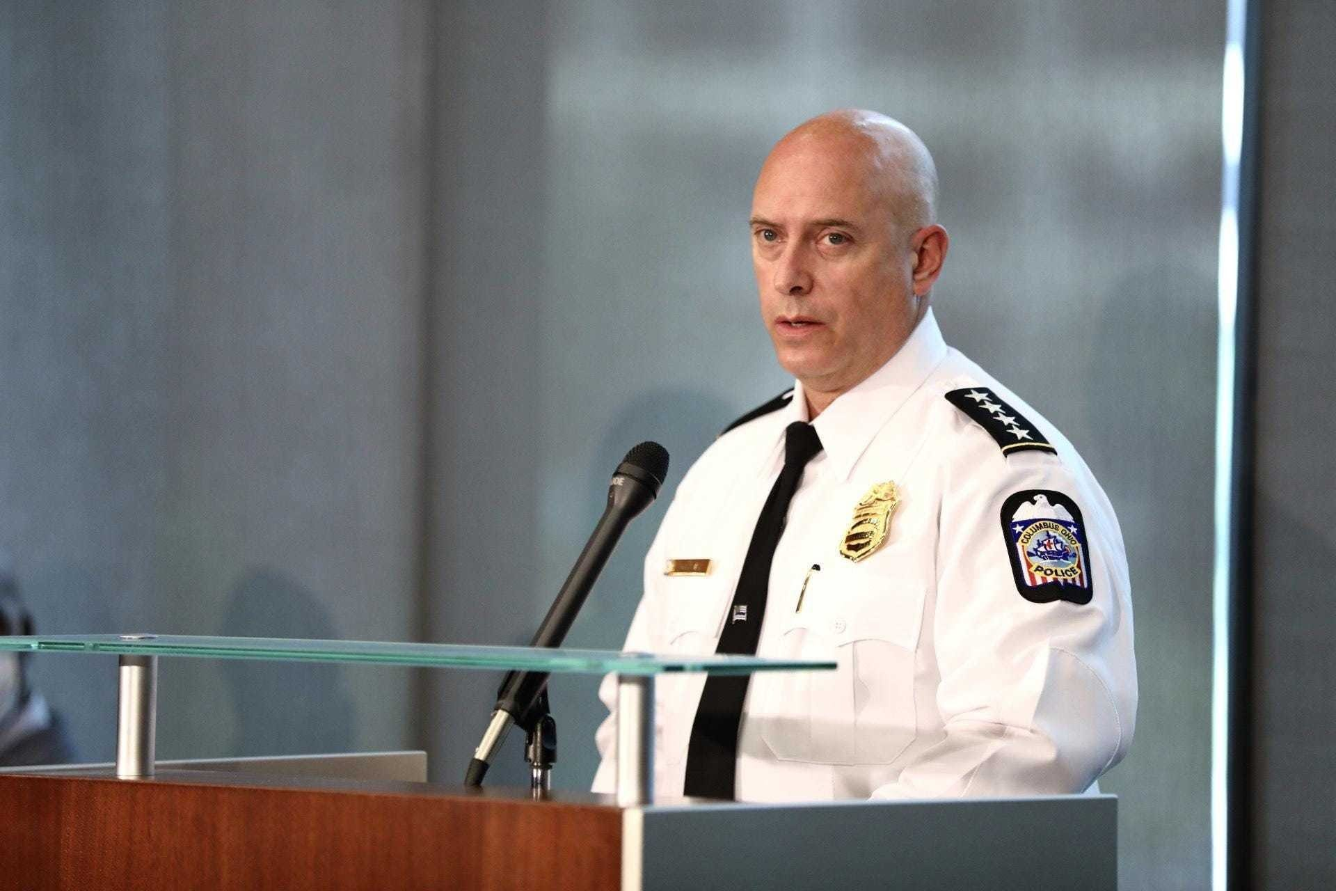 Columbus police chief demoted after 2 fatal shootings of unarmed Black men by law enforcement