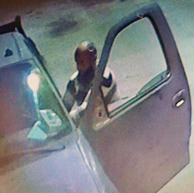 Thibodaux burglary suspect.