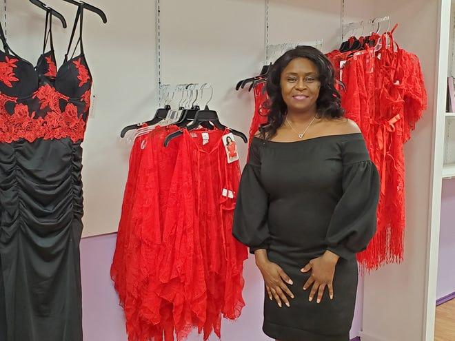 Denise Lloyd, a registered nurse who lives and works in Greensboro, has decided to open a storefront on Main Street in Lexington for her once online-only lingerie business. Her grand opening will be on Feb. 10.