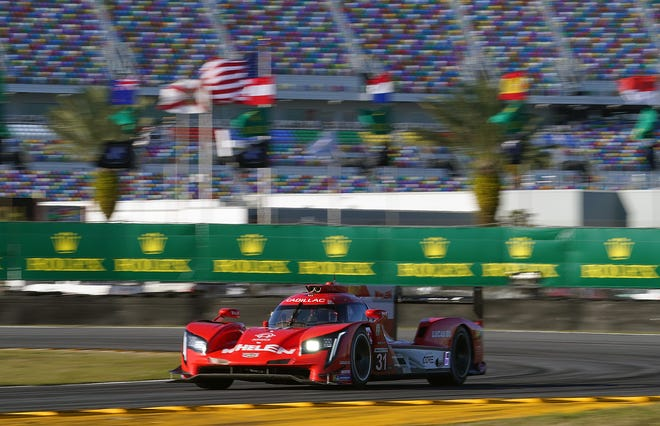 The No. 31 Cadillac will start on the Rolex 24 pole.