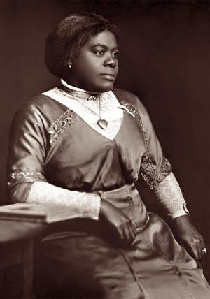 The late Dr. Mary McLeod Bethune, Daytona Beach area civil rights pioneer and founder of what is now Bethune-Cookman University.