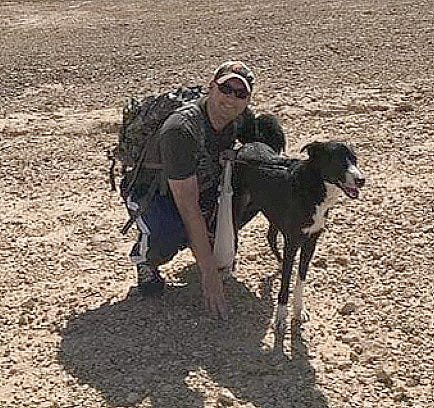 Millcreek Township native Steve Benacci, a U.S. Army captain currently serving in Saudi Arabia, will soon return to the U.S. with the mixed-breed dog he has been fostering after a recent fundraising effort generated enough money to make the adoption possible.