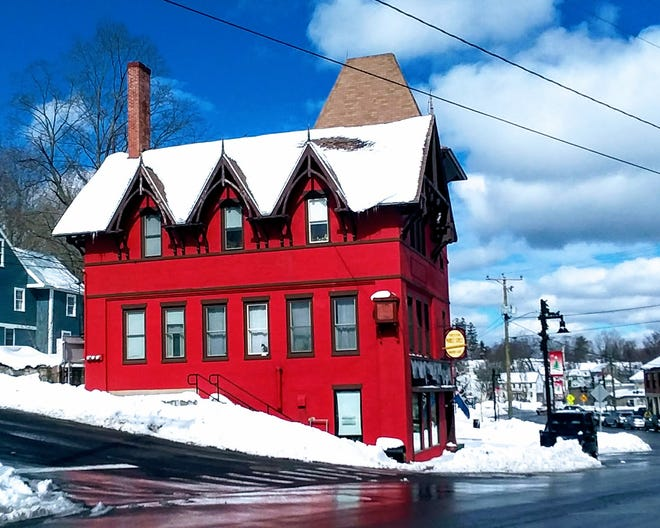 The current building that holds Forty Five Market Street Bakery in Somersworth.