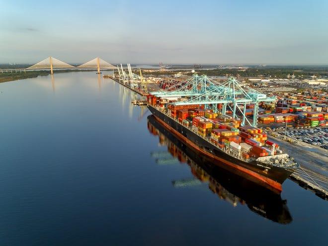 Jacksonville Port Authority's Blount Island facility