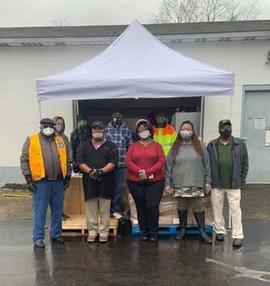 Jones County Community Hope holds a food drive every Wednesday from 10 a.m. to 2 p.m. (or gone) with free food boxes from the Food Bank of CENC distributed in Trenton behind Subway. Dedicated volunteers who share their time and resources is what makes this food distribution possible each week.