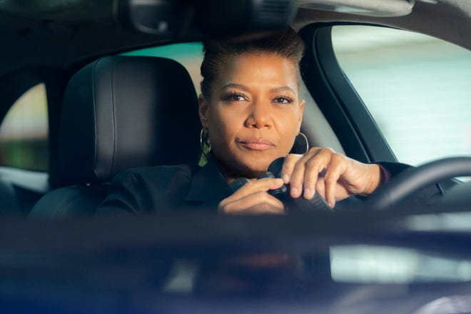 """This image released by CBS shows Queen Latifah in a scene from the series """"The Equalizer,"""" premiering after the Super Bowl on Sunday, Feb. 7."""