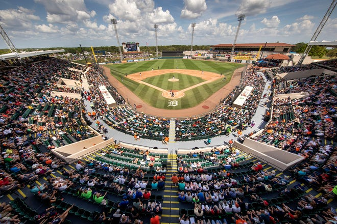 Don't expect packed stadiums for spring training if Major League Baseball goes through with the traditional start to the season this year. Lakeland and the Detroit Tigers have sent a proposal to MLB that would cap spectators at 25% in the stands, 50% in party areas such as the berm and 75% in private suites.
