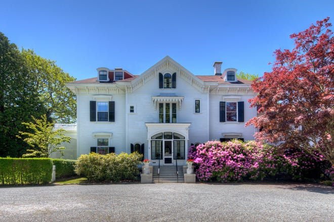 """""""Gravel Court"""" at 21 Clay St. in Newport"""