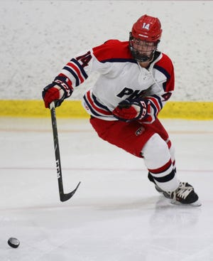 Mac Dunn tallied five points for the Portsmouth hockey team during its opening weekend.