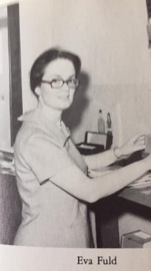 An image Westmoreland alumni say is of former teacher Eva Fuld, posted to an alumni page Wednesday, Jan. 27, 2021 following a report of Fuld's murder in Syracuse.