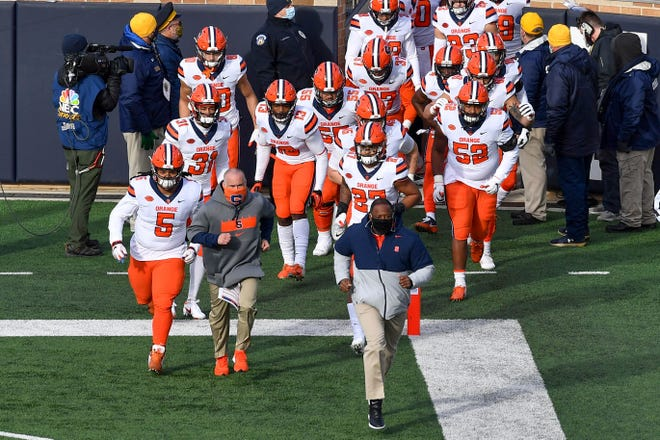 The Syracuse football team is set to open its 2021 slate on Sept. 4 against Ohio.
