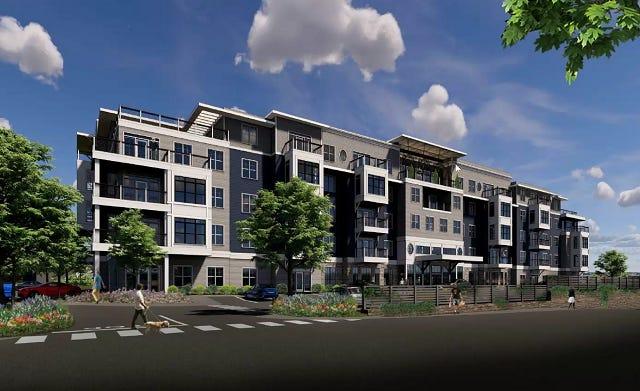 Atlantic Development LLC is proposing a senior living development at 1431-1449 Main St. in Weymouth.