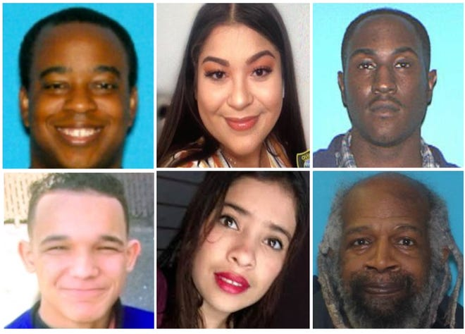 Donald Changeau, Maxberly Zapata, Donald Sampson, Angel Viera, Kency Diaz-Siguaque and Charles McCurdy all went missing from the greater South Shore area. Zapata, McCurdy and Changeau have been found.