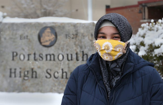 Aulia Castellano, a 17-year-old Portsmouth High School student, has designed a social justice literacy matrix that serves as a rubric for people to evaluate books on race, ethnicity, religion and culture.