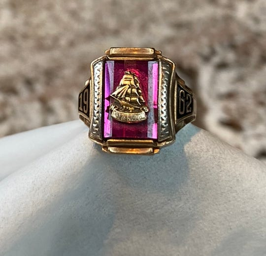 The owner of a Portsmouth High School Class of 1962 ring has been located in Washington.