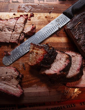 The signature menu item at Palm Beach Brisket and BBQ is, indeed, its low-and-slow smoked brisket.  PROVIDED BY CLEVELAND STUBBS