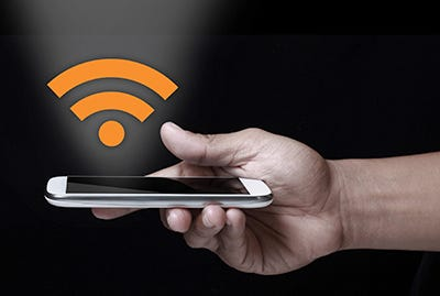 The greater the distance and the more walls in between a router and end user, the weaker the WiFi signal.