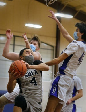 Kenny Silva and the Shea boys basketball team heads south this evening to take on South Kingstown in a Division I matchup.