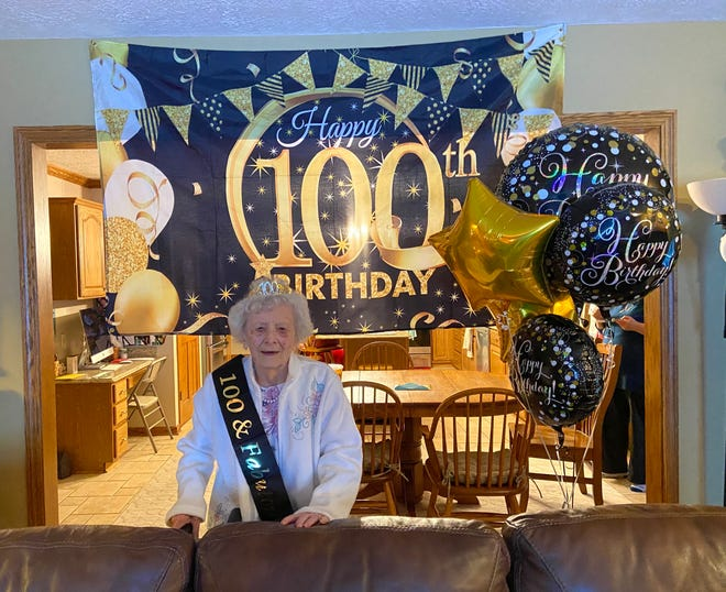Betty Hahn of East Canton celebrated her 100th birthday on Jan. 21.