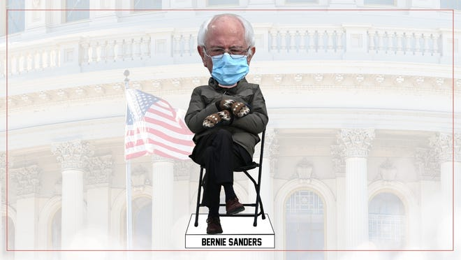 The Bernie Sanders Inauguration Day bobblehead is available for preorder $25 from the National Bobblehead Hall of Fame and Museum in Milwaukee, which was founded by two Rockford Guilford High School graduates. The bobblehead is in production and will ship in May.