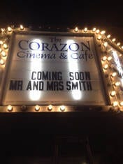 The Corazon Cinema & Cafe on Granada Street in St. Augustine announced it will permanently close.