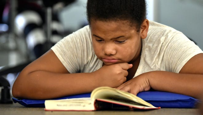 Nyla Hugan, who was 11 at the time, was among the students who participated in the 2017 Summer Book Challenge organized by the local affiliate of The Campaign for Grade-Level Reading. The literacy campaign has received a $250,000 donation from the Patterson Foundation.