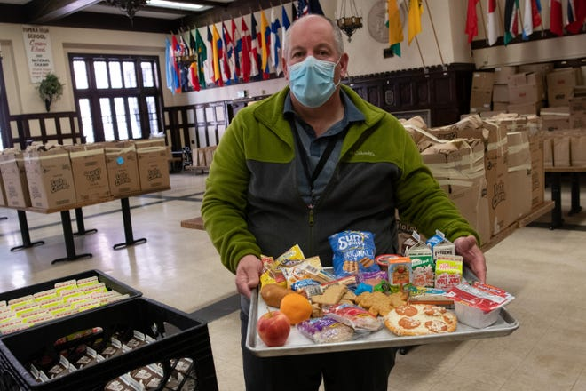 With Topeka USD 501 students back in remote learning, child nutritional services specialist Chris Wagner is encouraging families to keep using the district's free meal service, which provides a week's worth of lunches and breakfasts to any child regardless of the school they attend.