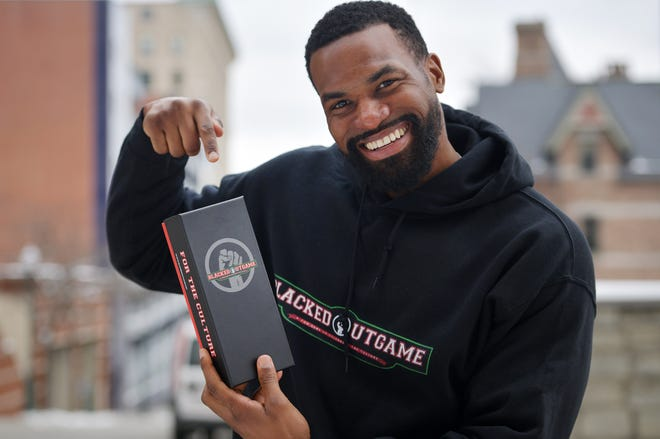 Worcester native Dominique Price has created a Black history/culture card game called BlackedOutGame.