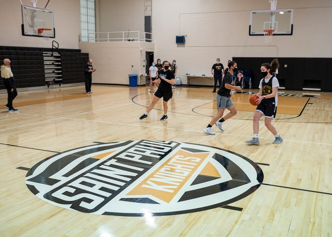After a canceled fall season and a delayed winter season due to the coronavirus pandemic, St. Paul will play the first varsity athletic contests in school history on Friday.