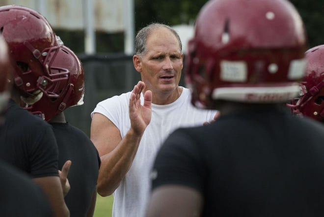 Mike Paroli is no longer the head football coach at Douglas Byrd High School.