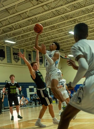 The North Hunterdon and Immaculata boys high school basketball teams met Wednesday night at the Immaculata High School gymnasium.