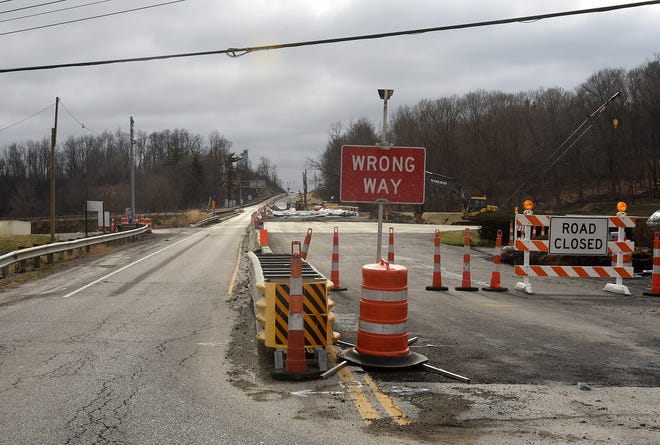 What was envisioned as a two-year project to widen the Ohio 37 bridge in and out of Granville could now possibly extend into spring of 2022 according to ODOT officials.