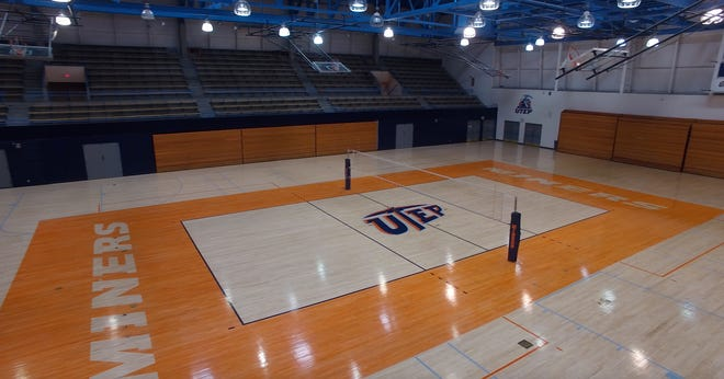 UTEP's Memorial Gym in El Paso, Texas is set to become the home site for the New Mexico State volleyball team this season due to state restrictions in New Mexico.