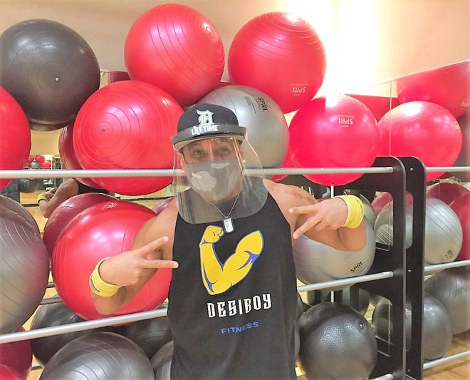 Rumba class instructor Shayam Thakker of Canton said the return of group exercise programs is good for people's mental and physical health during the pandemic.