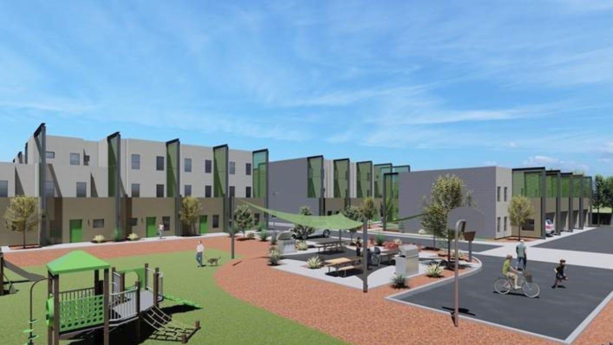 500 Affordable Rentals Under Construction In Phoenix Scottsdale