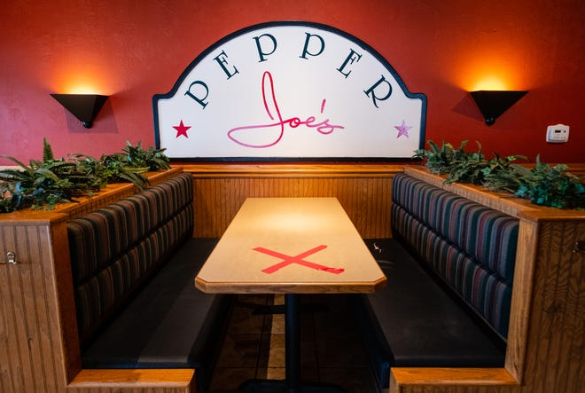 Don Harwood, owner of Pepper Joe's in St. Clair, expects the restaurant to be busy after it reopens Feb. 2. Harwood said his staff used the time they were closed due to COVID-19 to paint and do some renovations around the restaurant.