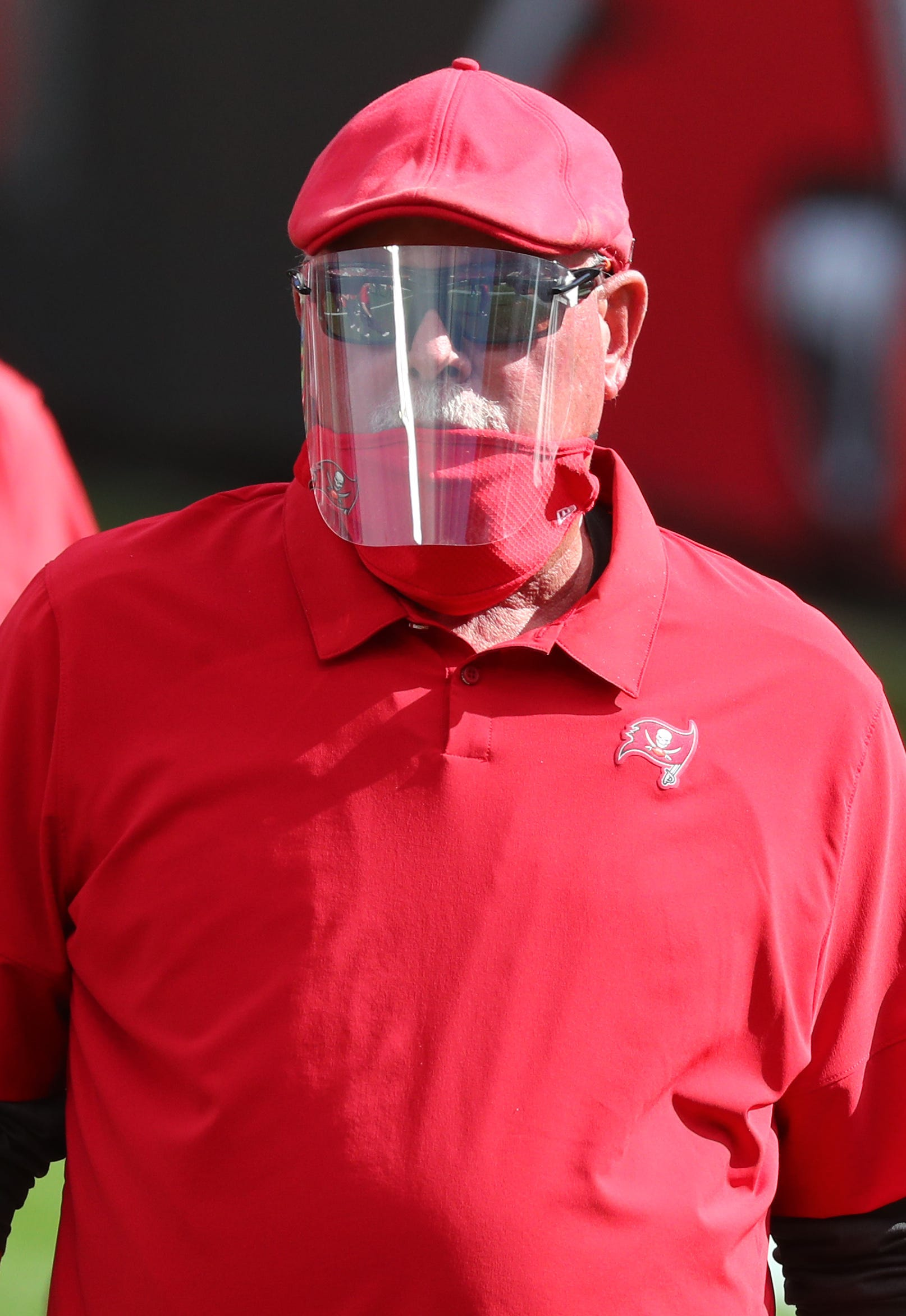 Buccaneers coach Bruce Arians sends message to players: 'Get vaccinated' for COVID-19