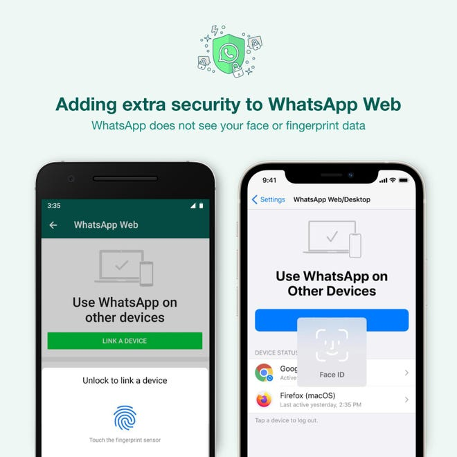 WhatsApp announces a new security feature for WhatsApp Web and Desktop.
