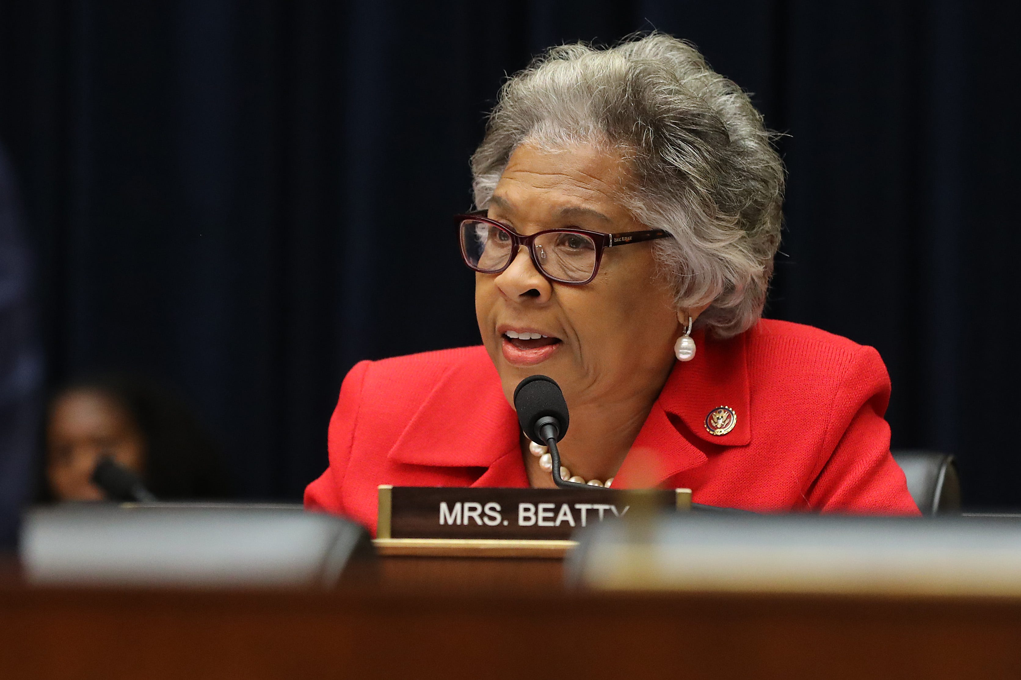 """Rep. Joyce Beatty, D-Ohio, promises to work with the Biden administration and her congressional colleagues """"to defeat the pandemic and ensure better days lie ahead for all of us."""""""