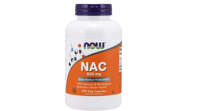 Cysteine is a natural compound and N acetyl cysteine (NAC) is a dietary supplement.