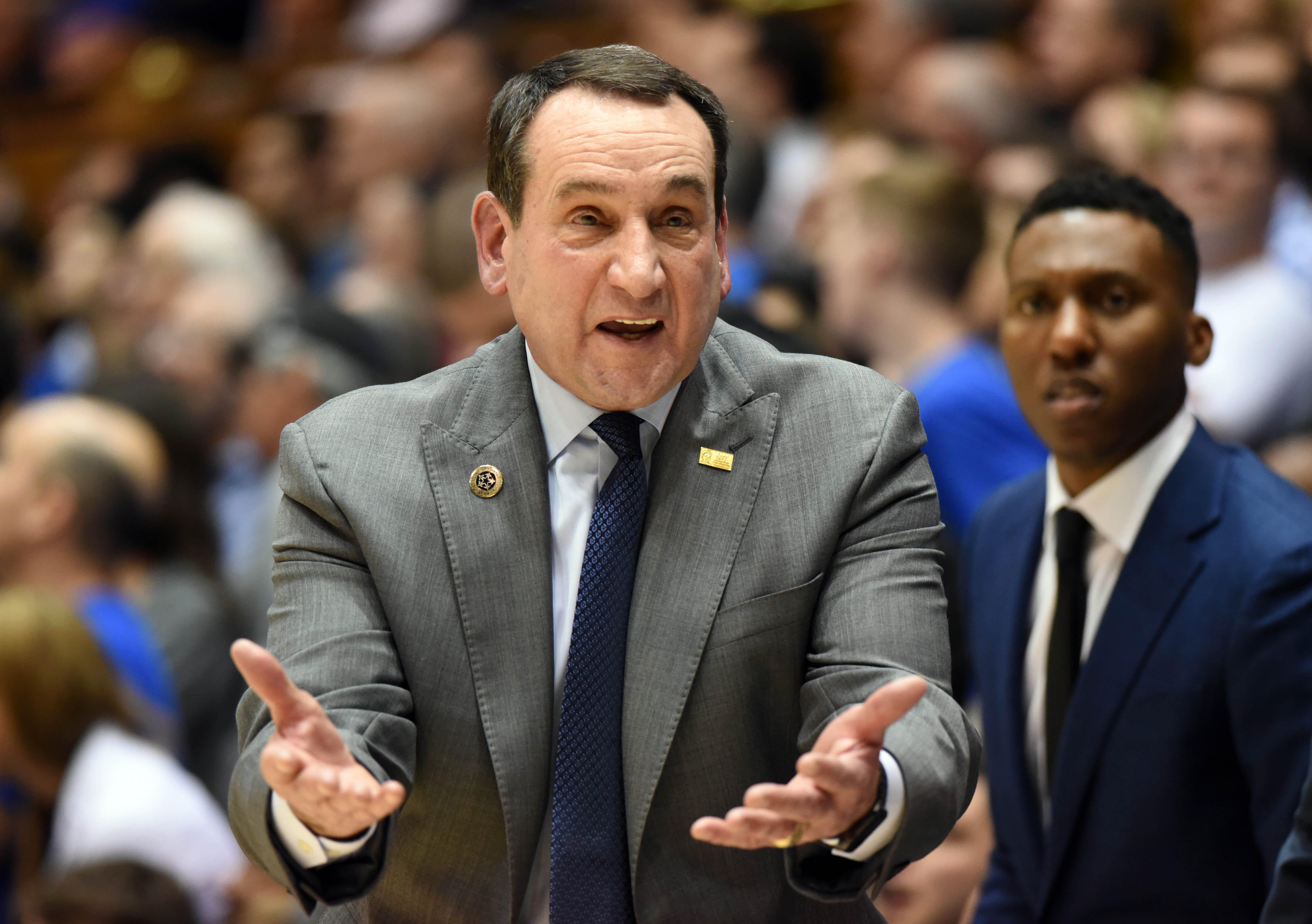 Report: Duke men's basketball coach Mike Krzyzewski, 'Coach K,' will retire after upcoming season
